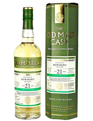 Bowmore 21 Jahre 1996/2017 Old Malt Cask - Single Cask #14267 -