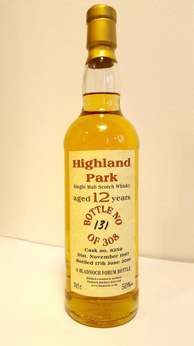Highland Park 12 Jahre 1997/2010 Bladnoch Forum - Single Cask -