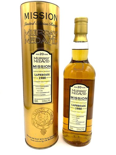 Laphroaig 20 Jahre 1988/2008 Mission Gold Murray McDavid