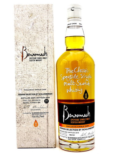 Benromach 9 Jahre 2009/2018 Germany Selection By Schlumberger - Single Cask #121 -