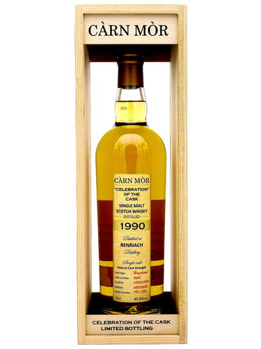 BenRiach 27 Jahre 1990/2018 Carn Mor/Celebration of the Cask - Single Cask #2640