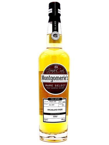 Highland Park 15 Jahre 1992/2007 Montgomerie`s - Single Cask #1233 -
