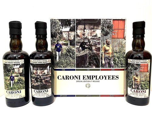 Velier Caroni Employees 4th Release Collector Box - 3 x 20cl -